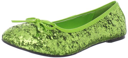 Funtasma Women's Star-16G Flat,Lime Green,9 M US (Tinker Bell Shoes)