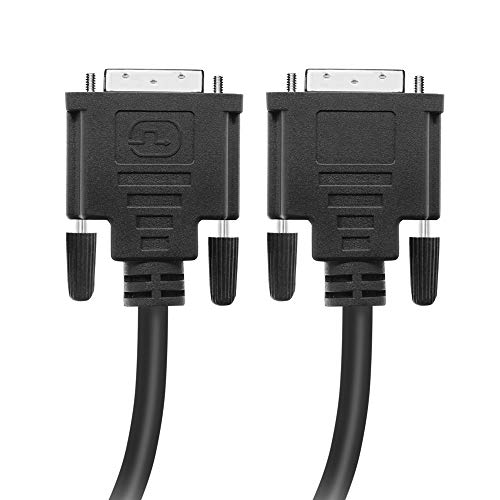 - BENSN DVI Cable, DVI Male to DVI Male Cable (24+1 Pin) Digital Video Monitor Cable for Gaming, DVD, Laptop, HDTV and Projector