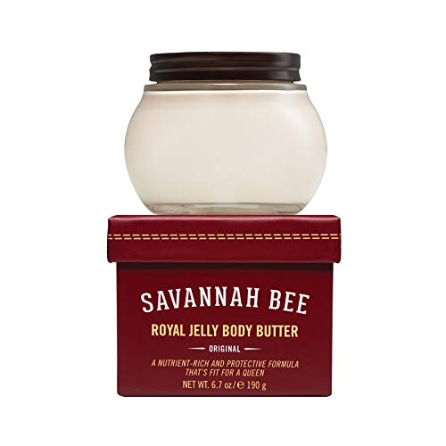 Royal Jelly Body Butter Original Formula by Savannah Bee Company - 6.7 Ounce Jar