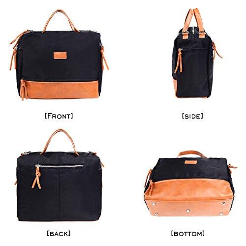 Large Handbag Fashion Shoulder Bag Travel Tote Bag For Women (Brown) by Vintga (Image #1)