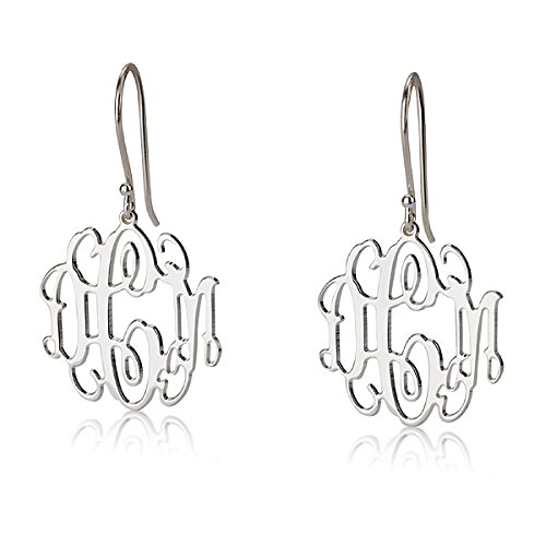 Monogram Earrings - 0.9