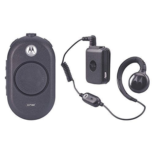 Motorola Solutions CLP1060 Two-Way Business Radio with Bluetooth Earpiece by Motorola Solutions