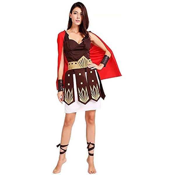 thematys® Disfraz de Guerrero Romano para Mujer Cosplay, Carnaval ...