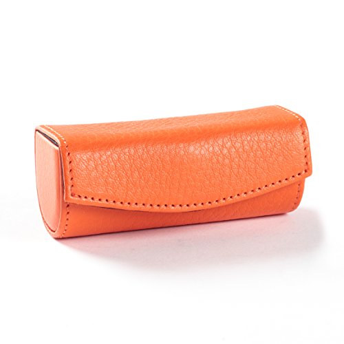 UPC 845362091620, Lipstick Case - Full Grain Leather - Orange (orange)