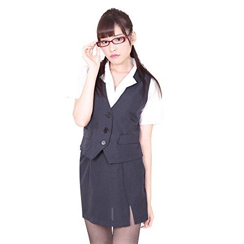 Japanese Kawaii Secretary Costume Play Set