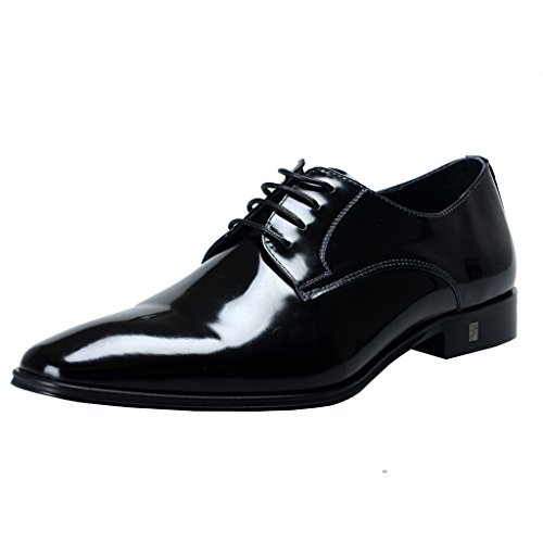 Versace-Collection-Mens-Black-Polished-Leather-Derby-Shoes