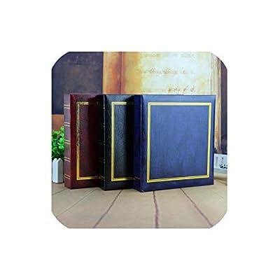 Vintage Insert Photo Album Leather Baby Wedding Guestbook Alternative/Scrapbook Record Family Album Wedding Album