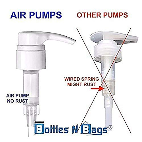 Shampoo/Conditioner Universal Premium Air Pumps for 1 Liter (33.8 Ounce) Bottles with 11