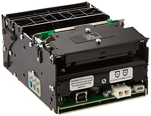 - Zebra Technologies 01973-000 Series TTP2000 Direct Thermal Kiosk Receipt Printer, 203 dpi Resolution, USB Connection, Black (Certified Refurbished)