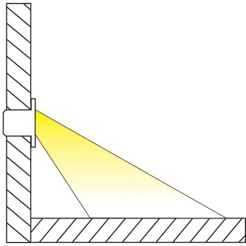 Indoor LED Recessed Stair Light / Step Light / Riser Light Kit - 8 LED Lights - Oil Rubbed Bronze by DEKOR (Image #7)