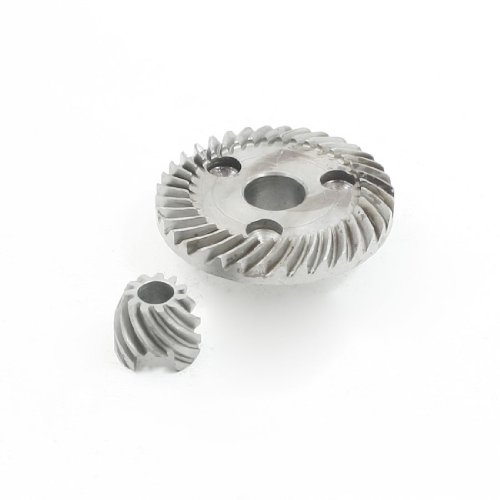uxcell Power Tool Angle Grinder Helical Teeth Bevel Gear Set for Makita 9523NB ()