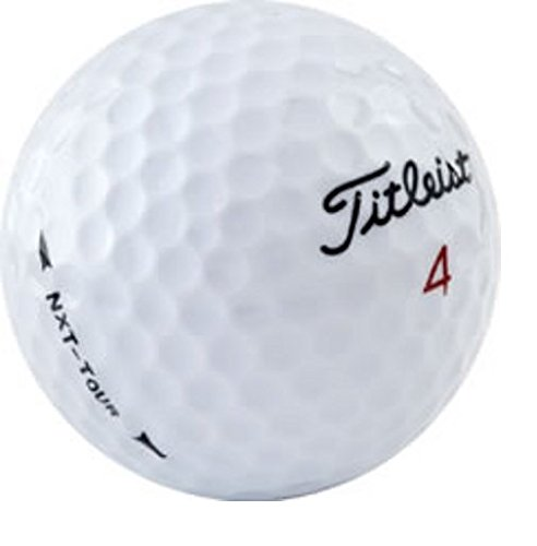 (Titleist NXT Tour AAAA Near Mint Used Recycled Golf Balls, 50-Pack)