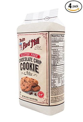 Bob's Red Mill Gluten Free Chocolate Chip Cookie Mix, 22 oz (Pack of 3) by Bob's Red Mill