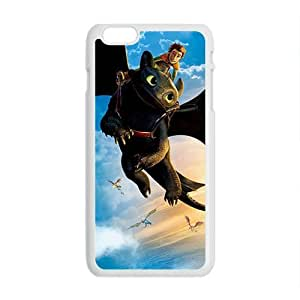 Black bat and man Cell Phone Case for Iphone 6 Plus