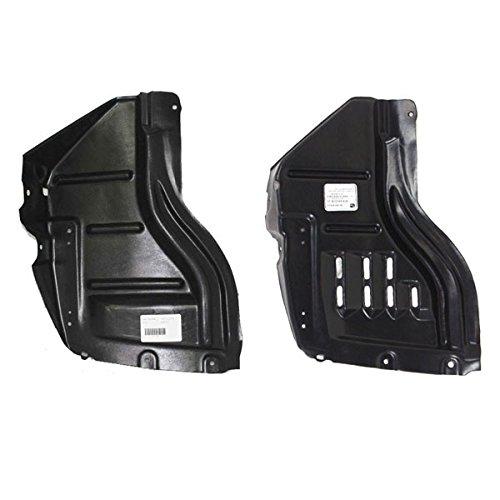- Koolzap For 07-13 Tundra Front Splash Shield Inner Fender Liner Left Right Side SET PAIR