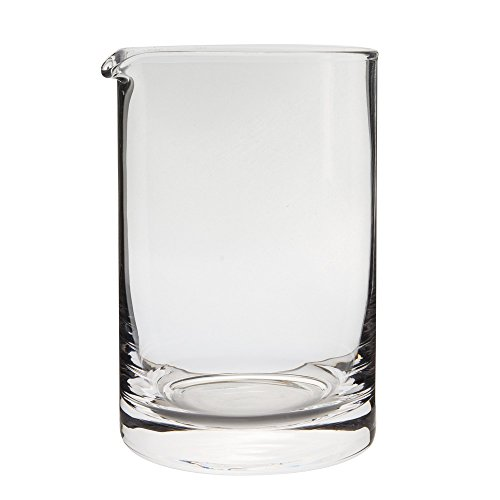Behind The Bar Hand Blown Cocktail Mixing Yarai Glass - 20 Ounce Capacity