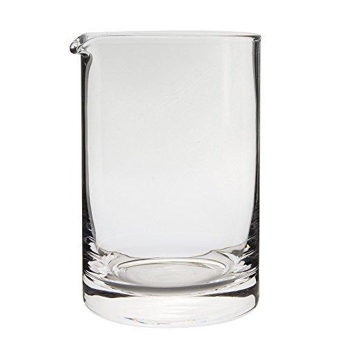 Behind The Bar Hand Blown Cocktail Mixing Yarai Glass - 20 Ounce Capacity