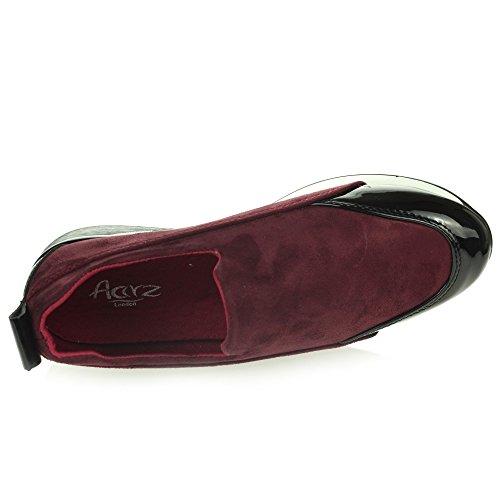 mémoire Chaussures Femmes Décontractée Entraîneurs marche Dames de Taille léger de Mousse Poids gymnastique sur Confort Glisser IqIr4w6