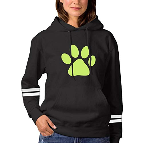 DUYxdr Cat Claw No-ir Fashion Hoodie Printed Sweatshirt for Women Pullover Hooded Long Sleeve Pocket
