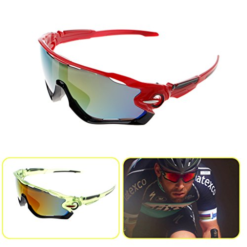 HNBility Cycling Eyewear, Bicycle Sun Glasses, Mountain Bikes Explosion proof Goggles Sport New