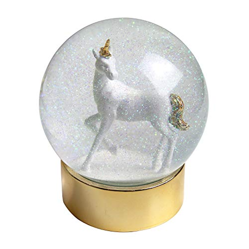 Talking Tables Gifts Room Décor | Glitter Snow Globe | Unicorn | for Girls Party and Baby ()