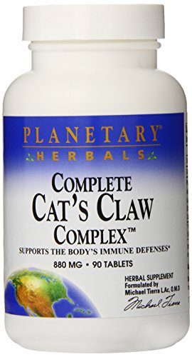 - Planetary Herbals Complete Cat's Claw Complex Tablets, 90 Count