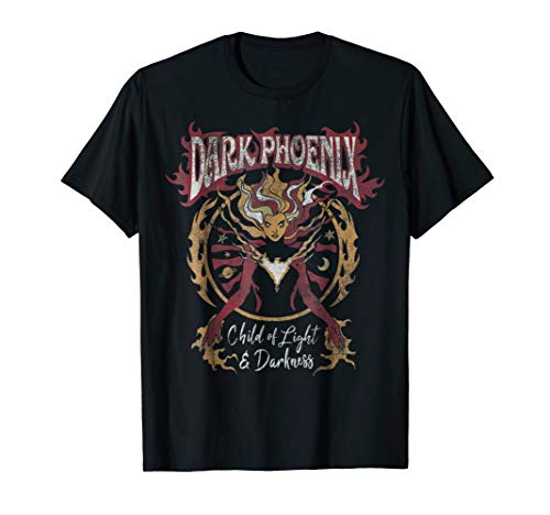 Marvel X-Men Dark Phoenix Light & Darkness Retro T-Shirt
