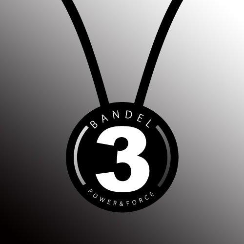 BANDEL(반델) 스포츠 건강 목걸이 넘버 시리즈 No.3 블랙 55cm
