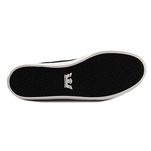 Mens Supra Yorek White White Grey Low Navy Size Shoes dq4pqySrF