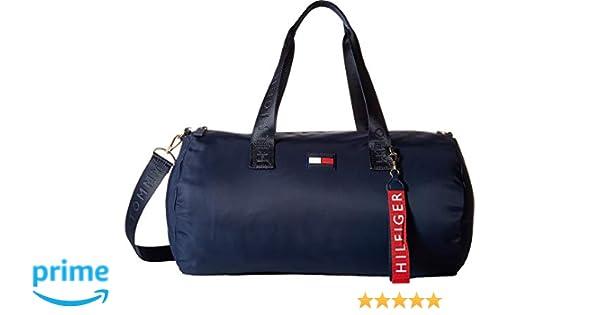 3def4bb04 Amazon.com | Tommy Hilfiger Women's Leah Duffel Tommy Navy One Size |  Travel Duffels