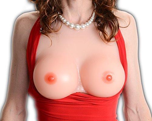 Envy Body Shop Silicone Breast Form Envy Be Mine Mastectomy Crossdressers and Transvestites Size 11(5XL) sizes42DD/44D/46C by ENVY BODY SHOP