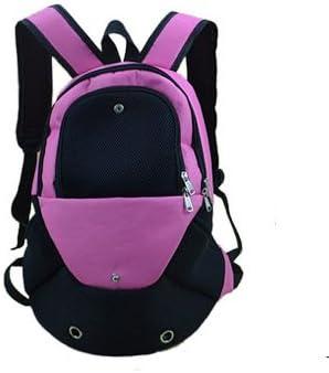 LOVEPET Mochilas para Perros Mochila para Mascotas Cat Bag Dog out out Pack Mochila Portátil Mochila Mochila Transpirable Mesh Cloth Outcrop Chest 14 * 35 * 40Cm,Pink: Amazon.es: Deportes y aire libre