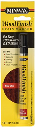 (Minwax 63483000 Wood Finish Stain Marker, Red Oak)