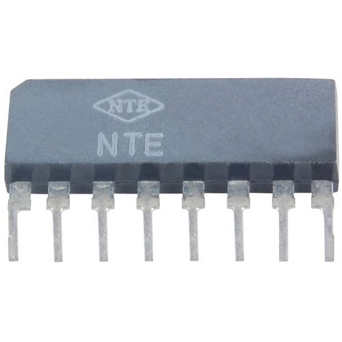 Integrated Circuit Operational Amplifier (NTE Electronics NTE778S Integrated Circuit Dual Operational Amplifier, 16V, 8-Lead SIP Package)
