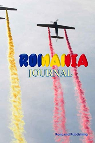 Journal: Romania 100 page lined ruled notebook...