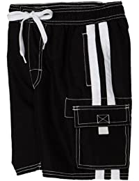 Boys' Barracuda Quick Dry UPF 50+ Beach Swim Trunk