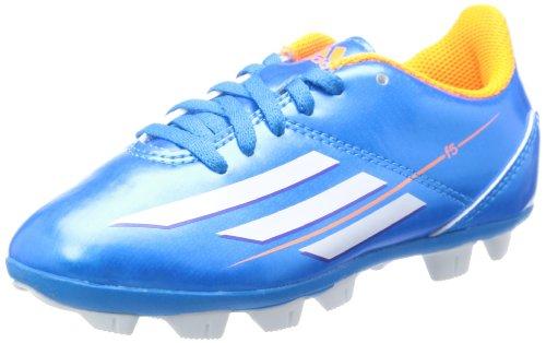 Adidas Chuteiras Junior F5 TRX HG - F32758, Solar Blue / White / Solar Zest, 38
