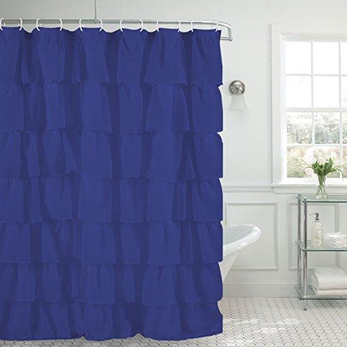 Jody Clarke 1PC Shower Curtain Gypsy Ruffle Bathroom