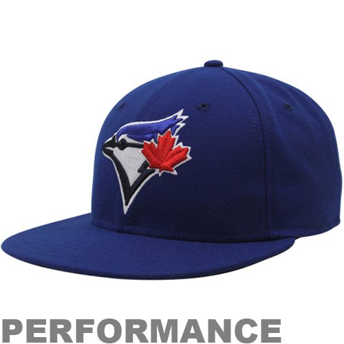 (New Era MLB Toronto Blue Jays Game Youth AC On Field 59Fifty Fitted Cap, Royal, 6 3/4)