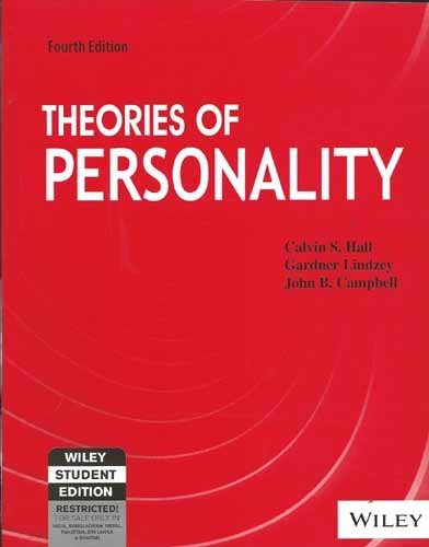 Theories of Personality; 4ed
