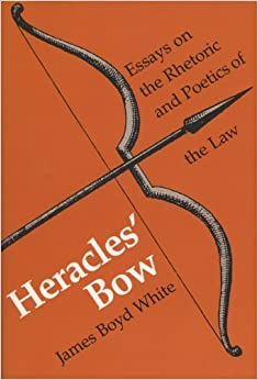 Book Heracles' Bow (Rhetoric of the Human Sciences Series) by James Boyd White (1989-12-31)
