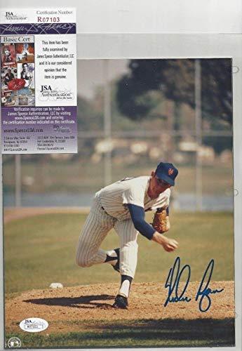 - Nolan Ryan New York Mets Baseball Hofer Autographed Signed 8x10 Photo - JSA Authentic Memorabilia