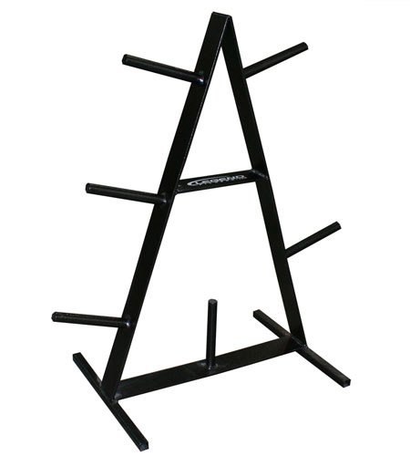 Legend Fitness 3126 USA-Made A-Frame Plate Tree for Standard or Olympic Weight Lifting Plates - Weight Plate Rack - Weight Plate Storage by Ironcompany.com