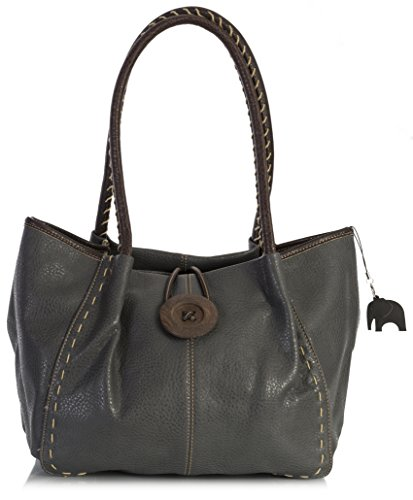 donna Grey a spalla Handbag Big Dark Borsa One Shop BHSL qzwXwtFZn
