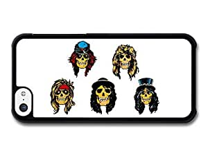 MEIMEIGuns and Roses Band Skulls Illustration case for iphone 6 4.7 inchMEIMEI