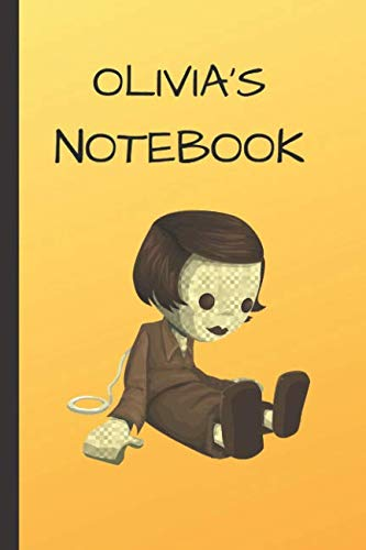 Olivia's Notebook: Doll  Writing 120 pages Notebook Journal -  Small Lined  (6