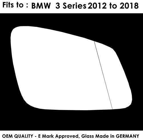 TWMC-3S 2012 2017 Door Wing Mirror Glass RH Driver Side