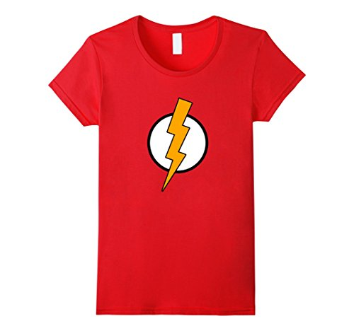 Womens Flash strike t-shirt for kids and adults Small (Female Flash)