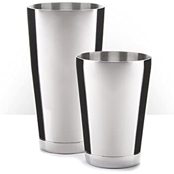 boston shaker professional stainless steel cocktail shaker set including 18oz. Black Bedroom Furniture Sets. Home Design Ideas
