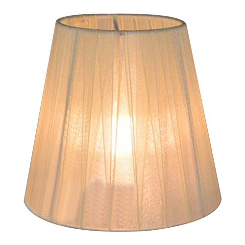 transparent candle chandelier lampshade wall